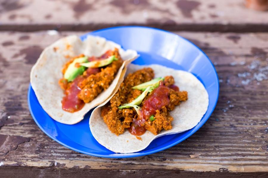 Chorizo Breakfast Tacos- CampingStyle