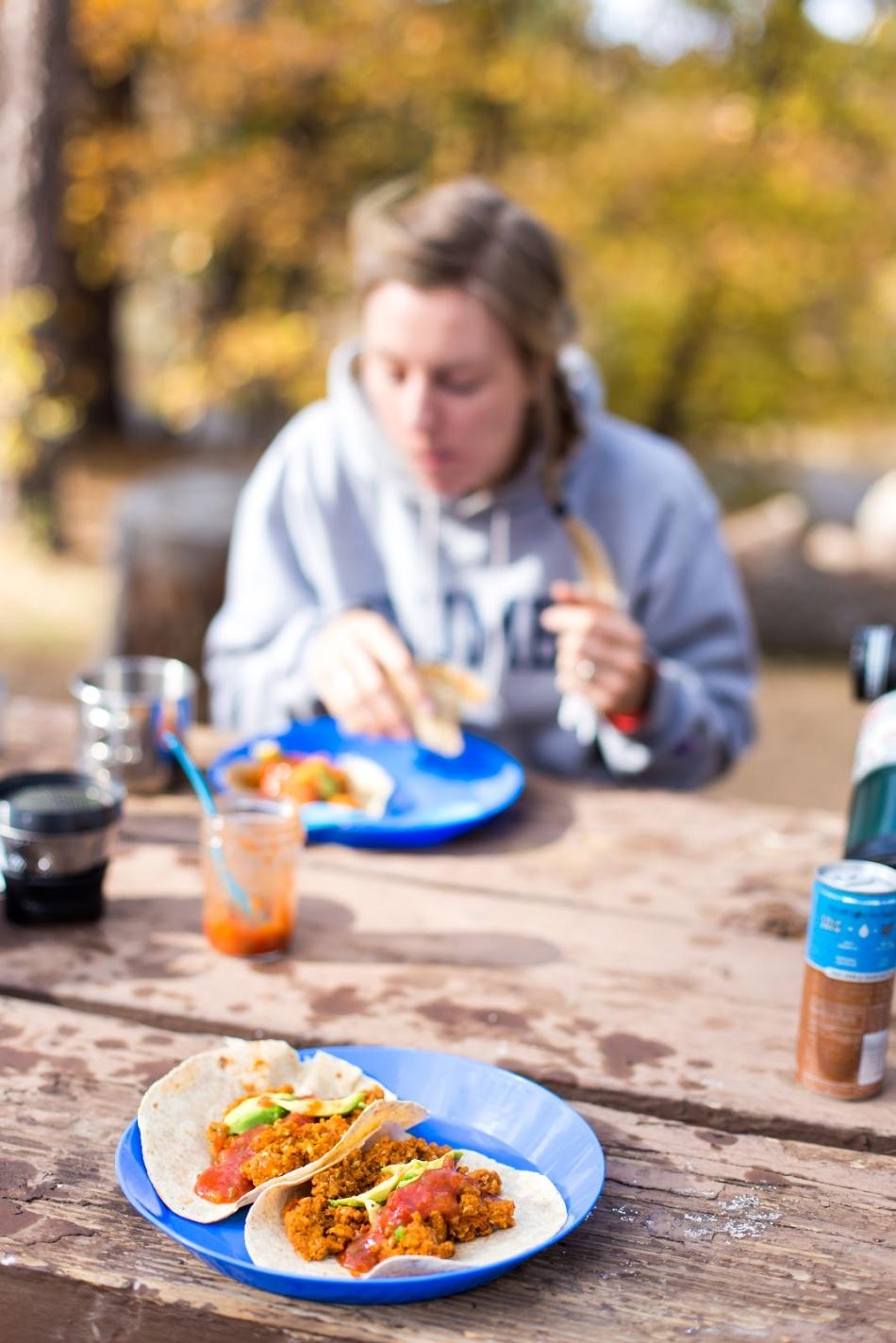 chorizo-breakfast-tacos-camping