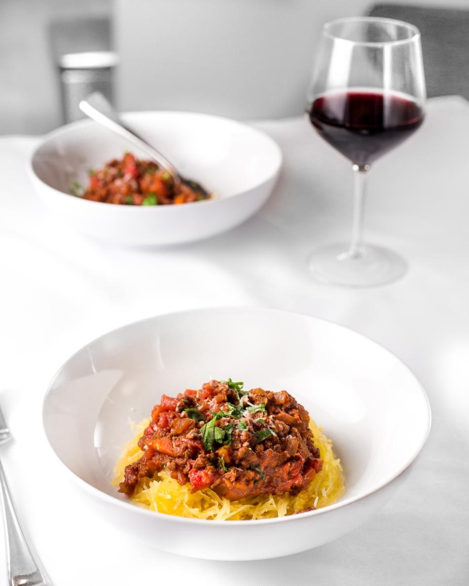 Spaghetti Squash Bolognese-1048
