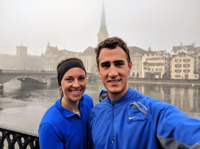 Running in Zurich