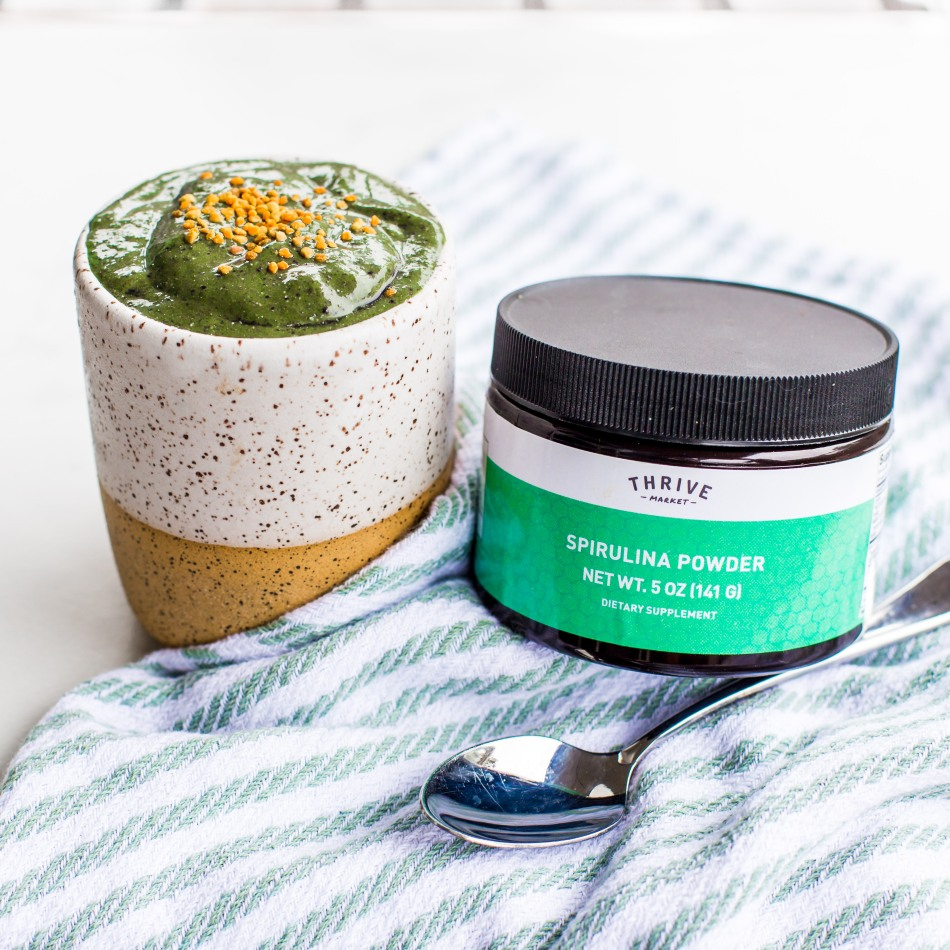 Blueberry Spirulina Smoothie Nutritional Therapy